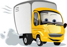 cartoon of truck